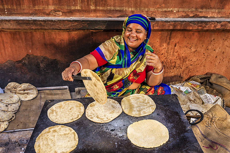 Dicas Alimentares Importantes para Viajantes na Índia